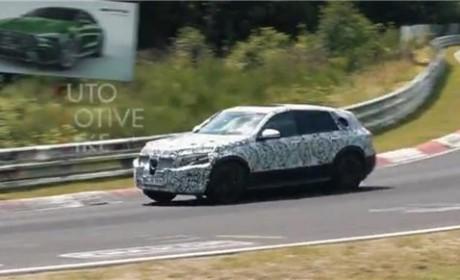 近200辆原型车进行测试 百公里加速不足5秒的奔驰EQC明年发布