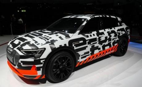 因CEO被捕 奥迪宣布推迟e-tron电动SUV发布
