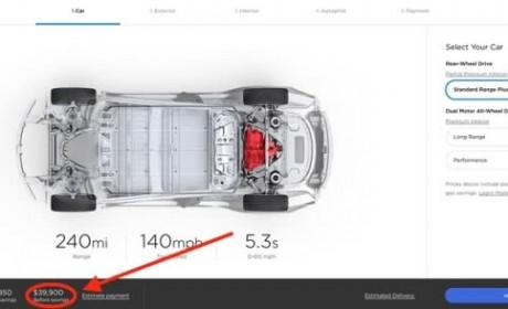 特斯拉上调所有Model 3车型价格 中国地区暂未跟进