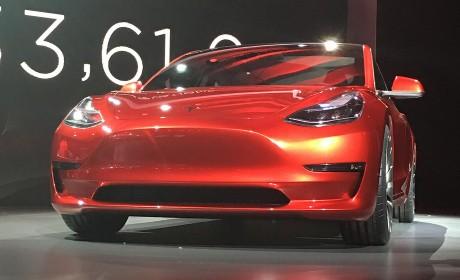 特斯拉向所有人开放Model 3个性定制和预定