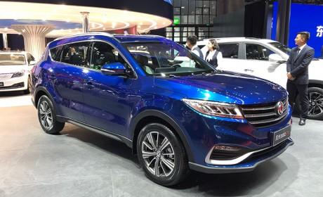 上海车展 东风风光580 Pro正式发布