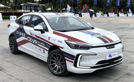 北汽新能源成都车展阵容曝光 EU7 首发亮相 其他车型悉数登场