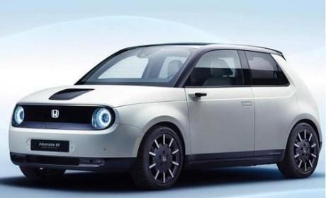 新的本田e电动车标配了侧视镜系统