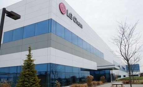 LG 化学拟在韩国为特斯拉生产电池