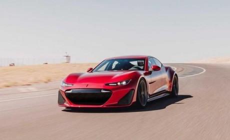 售价880万 最高时速330km/h!插电混动超跑GTE首秀