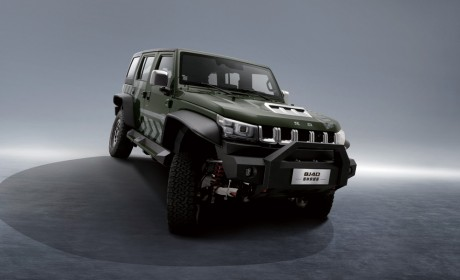 北京越野BJ40雨林穿越版正式上市 售价26.99万元