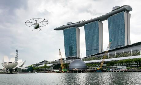 2021上海车展:吉利科技联合Volocopter亮相 纯电动飞车中国首秀引关注