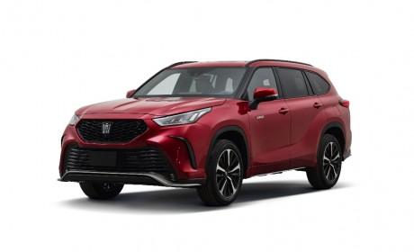 定位高端大七座SUV 一汽丰田皇冠陆放7月3日预订开启
