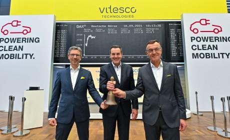 纬湃科技在法兰克福证券交易所成功挂牌上市