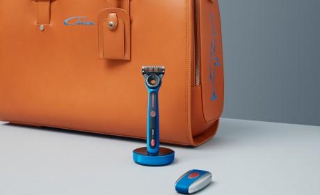 吉列Labs携手布加迪 全球首发联名特别版热感剃须刀
