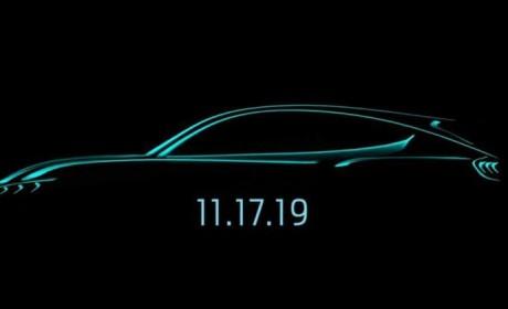 11月17日发布 曝福特全新纯电动SUV造型