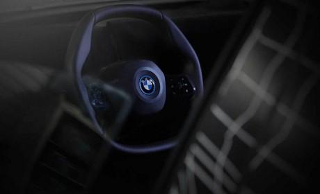 采用全新造型方向盘 宝马iNEXT再发预告片