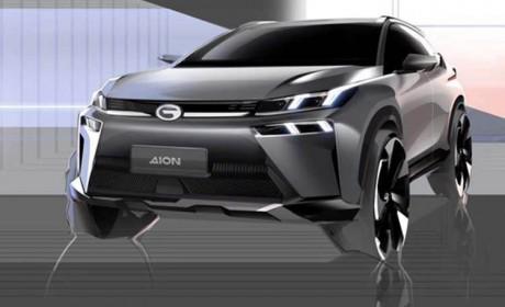 广汽新能源Aion V设计图曝光 将于4月底开启预订