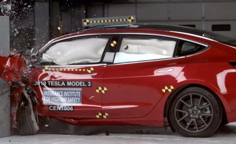 特斯拉Model 3 获 2019 年 IIHS 最高安全评级 紧逼奥迪e-tron