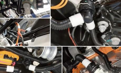 特斯拉Model 3车载动力系统拆解图曝光