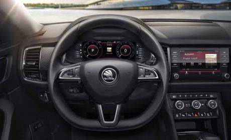 侧面宝马X6 斯柯达新轿跑SUV柯迪亚克GT官方图