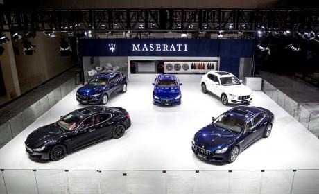 玛莎拉蒂全球限量版及全系车型登陆广州车展