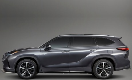 丰田全新汉兰达XSE官方图发布 史上性能最强