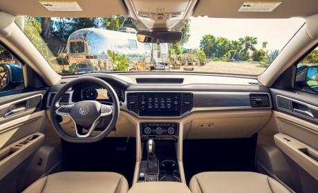 大众改款Atlas亮相芝加哥车展 配置升级外观调整