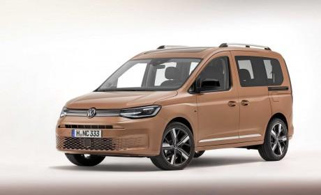 大众全新Caddy发布 外观重新设计 基于MQB平台