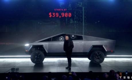 最酷电动皮卡竟如此受欢迎 特斯拉Cybertruck预定已超50万辆