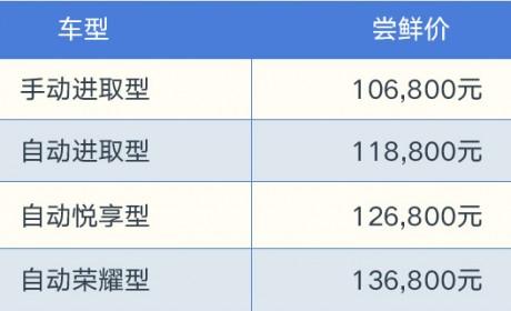 捷达旗舰车型VS7尝鲜上市 售价10.68万-13.68万元