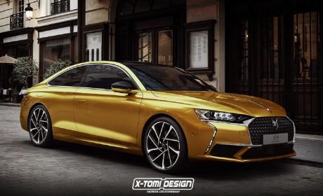 DS 9发布之后还有续集?Coupe车型渲染图曝光