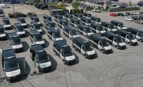 护航城市交通 | 32辆曼恩TGE交付波兰道路运输监察局