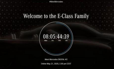 新款E级轿跑/敞篷预告图公布!5月27日晚新车发布