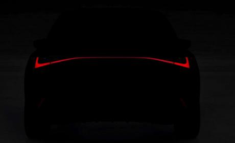 雷克萨斯IS预告图发布!新车将于6月9日亮相