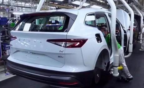 斯柯达全新纯电SUV投产 ID.4同平台/多款动力搭配