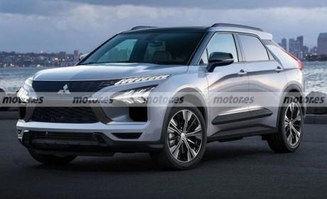 三菱全新纯电动SUV渲染图曝光 预计2021年秋季亮相