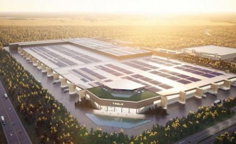 特斯拉计划在柏林超级工厂建设年产100GWh电池工厂