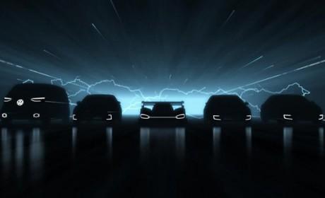 大众放大招 3月25日或将发布5款纯电车型