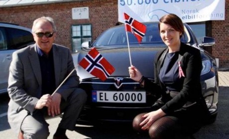 """别说""""电动爹""""冬天就趴窝,北极附近挪威电动车卖的比油车好"""