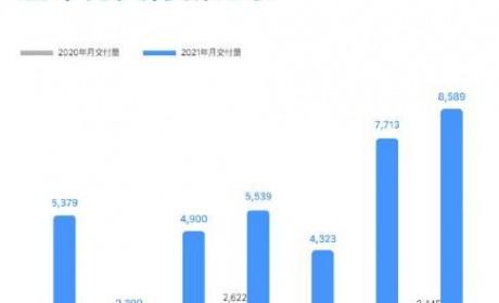 理想汽车7月交付量达8589辆 同比增长251.3%