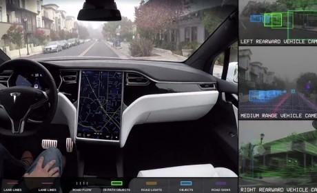 特斯拉称其在自动驾驶软件和硬件开发方面取得重大进展
