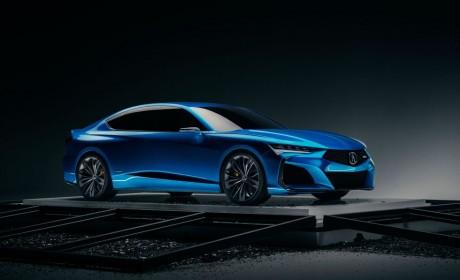 重新设计的全新讴歌TLX即将面世 Type-S版本搭载V6涡轮增压