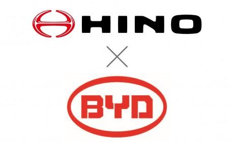 比亚迪和日野签署战略协议,聚焦发展纯电动商用车
