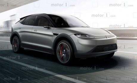 索尼第二款新车来了 Vision-S跨界电动车造型一点不梦幻啊