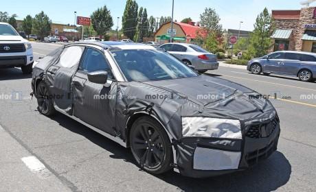 2021款讴歌Acura TLX专利图曝光,高度还原Type S Concept概念车