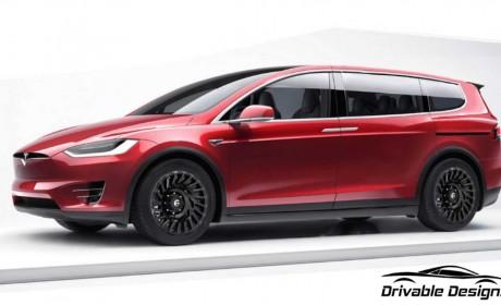 如果特斯拉推出了侧滑门的minivan 那么它应该是这个样子