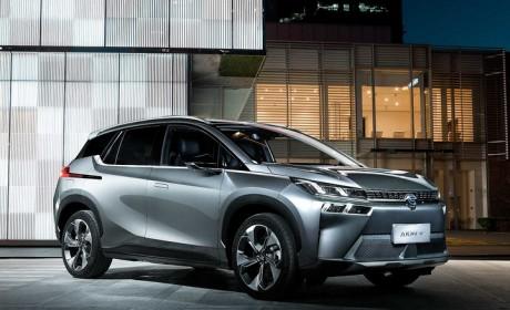 最长续航600公里 广汽新能源第三款车型埃安V将在6月16日上市