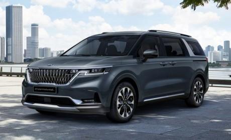 浓郁SUV风/是否会引入国内市场呢? 2022款起亚MPV车型Sedona曝光
