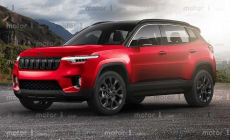 比自由侠还小 Jeep全新小型SUV假想图曝光