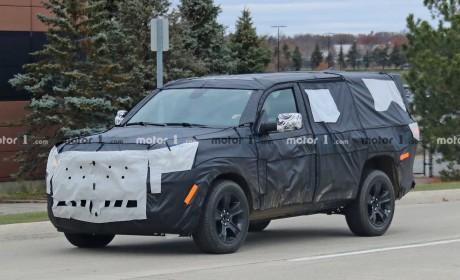 Jeep全新Grand Wagoneer预告图发布 内饰精致超越大切诺基