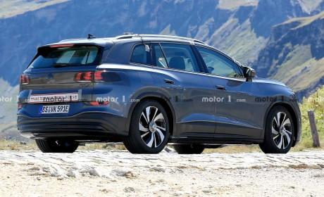 大众ID.6路试谍照曝光 为首款三排座MEB平台纯电SUV