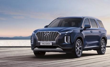 现代进口汽车帕里斯帝PALISADE预售价31万元起 北京车展将上市