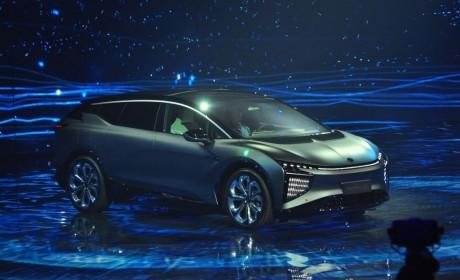 划时代智能电动车高合HiPhi X创始版破晓上市 售价80万元