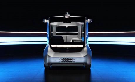 hachi auto 2第二代无人驾驶通勤车首发亮相